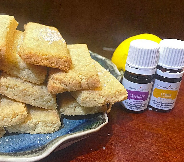 Lavender and Lemon Tea Cookies