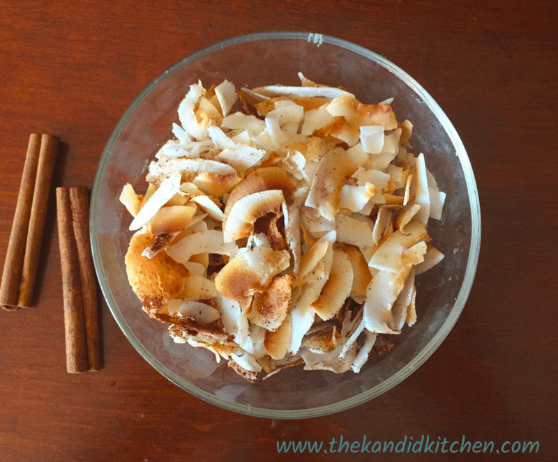 Sweet & Salty Toasted Coconut Chips