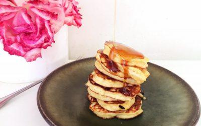 Three Ingredient Paleo Pancakes