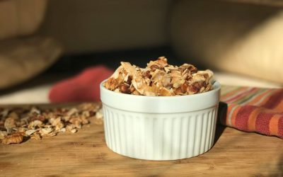Toasted Maple Pecan Coconut Chips
