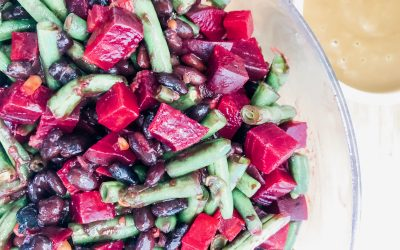 Bean & Beet Salad